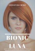 """Book cover """"Bionic Luna """""""
