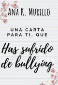 """Portada del libro """"Una carta para ti que has sufrido de bullying"""""""