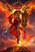 "Book cover ""Ангел на метле"""