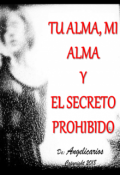 """Portada del libro """"Tu Alma, Mi Alma y el Secreto Prohibido"""""""