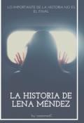 """Portada del libro """"La historia de Lena Méndez"""""""