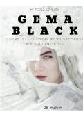 """Portada del libro """"Gema black"""""""