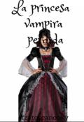 "Portada del libro ""La princesa vampira  perdida """
