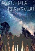 """Portada del libro """"Academia Elemental."""""""