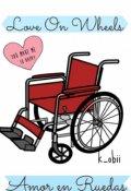 """Portada del libro """"Amor en Ruedas"""""""