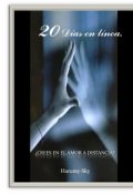 """Portada del libro """"20 Días en Linea."""""""