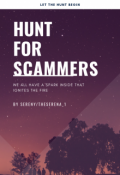 "Portada del libro ""Hunt for Scammers"""