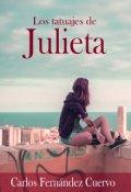 """Portada del libro """"Los tatuajes de Julieta"""""""