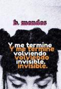 """Portada del libro """"Invisible, la palabra que me describe."""""""