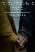 """Portada del libro """"Yo las letras, tú la magia. """""""
