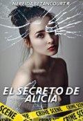 """Portada del libro """"El secreto de Alicia."""""""