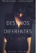 """Portada del libro """"Destinos diferentes"""""""