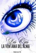 """Portada del libro """"Los ojos la ventana del alma"""""""