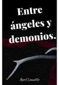 """Portada del libro """"Entre ángeles y demonios."""""""