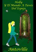 """Portada del libro """"Holly y el mundo a través del espejo"""""""