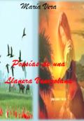 """Portada del libro """"Poesias de Una Llanera Venezolana"""""""
