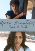 """Book cover """"More Beautiful Than U Think"""""""