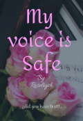 "Portada del libro ""My voice is safe"""