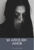 """Portada del libro """"20 años sin amor"""""""