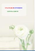"""Portada del libro """"Una Flor De Invierno"""""""