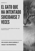 """Portada del libro """"El gato que ha intentado suicidarse 7 veces (editando)"""""""