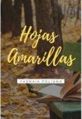 """Portada del libro """"Hojas Amarillas"""""""