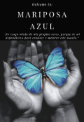 "Portada del libro ""Mariposa Azul"""