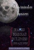 """Portada del libro """"Movimientos lunares"""""""