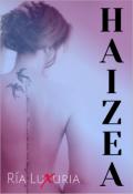 "Portada del libro ""Haizea"""