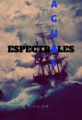 """Portada del libro """"Aguas Espectrales - Microrrelato"""""""