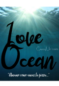 """Portada del libro """"Love Ocean"""""""