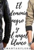 """Portada del libro """"El Demonio Negro y El Ángel Blanco"""""""