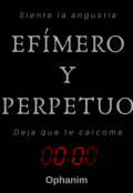 """Portada del libro """"Efímero y perpetuo."""""""