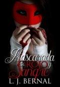 """Portada del libro """"Mascarada de rojo y sangre"""""""