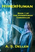 "Book cover ""Hyperhuman"""