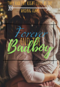 """Book cover """"Forever and the Badboy"""""""