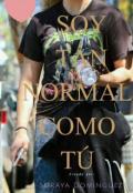 """Portada del libro """"Soy Tan Normal CÓmo TÚ"""""""
