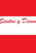 """Portada del libro """"Santos y Demonios"""""""