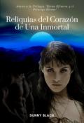"""Portada del libro """"Reliquias del Corazon de una Inmortal ©"""""""