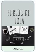 """Portada del libro """"El blog de Lola """""""
