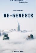 """Book cover """"Re-Genesis."""""""