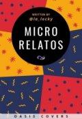 """Portada del libro """"Microrrelatos"""""""
