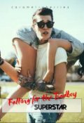 "Book cover ""Falling For The Badboy Superstar"""