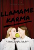 """Portada del libro """"Llámame Karma"""""""