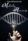 "Portada del libro ""Una Historia de Mutato Hominis: Hilary"""