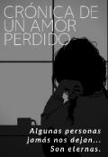 """Portada del libro """"Crónica de un amor perdido """""""