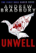 """Book cover """"Unwell"""""""