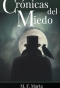 """Portada del libro """"Crónicas del Miedo"""""""