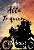 """Portada del libro """"Más allá de un te quiero"""""""