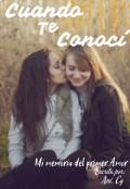 """Portada del libro """"Cuando Te Conocí"""""""